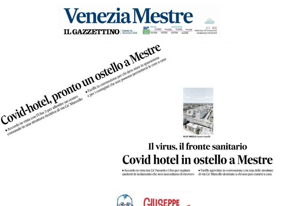 Covid hotel a Mestre